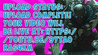 Download Upload status: Upload complete! Your video will be live at: https:///9YtaOrAs4kM Video