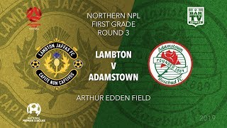 Download 2019 NPL Northern NSW u20s and 1st Grade - Round 3 - Lambton v Adamstown Video