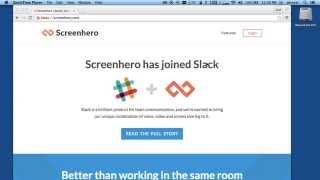 Download Screen Hero for Remote Pair Programming screen sharing Video