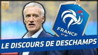 Download Au coeur des Bleus : le discours de Deschamps avant le match d'ouverture Video