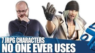 Download 7 Rubbish JRPG Characters No-one Ever Has In Their Party Video