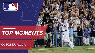 Download Turner's walk-off homer, plus nine more moments from NLCS Game 2: 10/15/17 Video