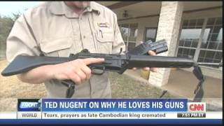 Download Ted Nugent on Erin Burnett on gun control Video