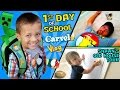 Download CHASE'S 1st Day of SCHOOL! + Shawn's Old House Tour w/ Carvel Ice Cream (FUNnel Vision Vlog) Video