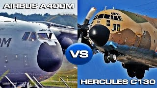 Download Hercules C130 VS Airbus A400M Atlas Video