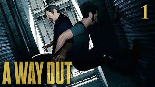Download BREAKING OUT OF PRISON w/ MY EDITOR!! | A Way Out | Lets Play - Part 1 Video