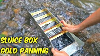 Download Sluice Box - Gold Panning Video