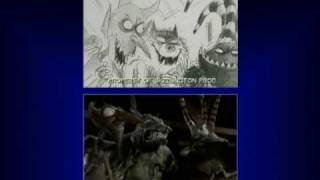 Download Nightmare Before Christmas - storyboard to film comparison Video