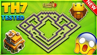Download INSANE TOWN HALL 7 (TH7) TROPHY BASE LAYOUT/ DEFENSIVE DESIGN 2018- Clash Of Clans Video