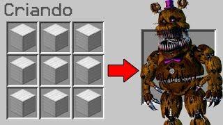 Download COMO INVOCAR O FREDDY ANIMATRONIC NO MINECRAFT! (PERIGOSO) Video