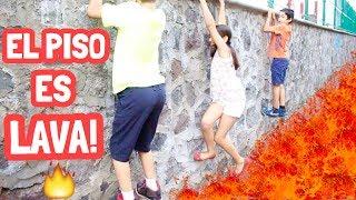 Download EL SUELO ES LAVA CHALLENGE / THE FLOOR IS LAVA - Gibby :) Video