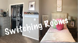 Download SWITCHING ROOMS | REARRANGING BEDROOMS | MOVING ROOMS Video