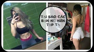 Download TẠI SAO CÁC BẠN NỮ NÊN TẬP TẠ | WHY GIRLS SHOULD LIFT WEIGHT | VIDEO IN VIETNAMESE Video