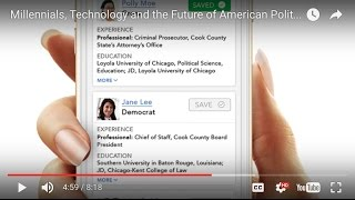 Download Millennials, Technology and the Future of American Politics Video