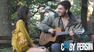 Download Homeless Man Picks Up Girls With Amazing Voice! Video