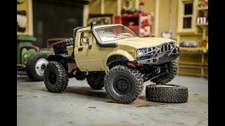 Download Modifying the WPL 116 scale Toyota Hilux RC Crawler, Paint and Details Video