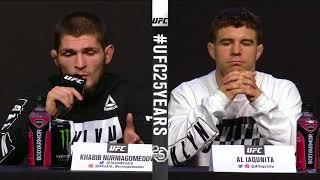 Download [FULL] UFC 223 press conference for Khabib Nurmagomedov vs. Al Iaquinta   ESPN Video
