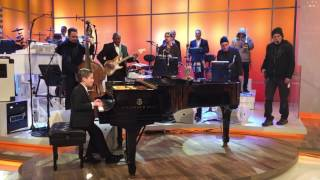 Download Brandon warming up with Harry's band on the Harry Connick Jr. Show Video