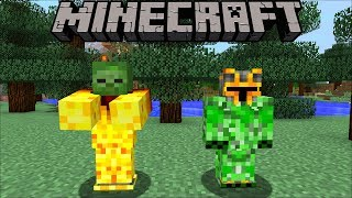 Minecraft: PLANTS VS ZOMBIES MOD (White House Special Edition) Mod