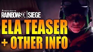 Download Rainbow Six Siege - In Depth: ELA TEASER TRAILER & OTHER INFO - Polish Defender Video