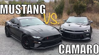 Download CAMARO OWNER SHOCKED by HOW Good 2018 MUSTANG GT IS!!! Video