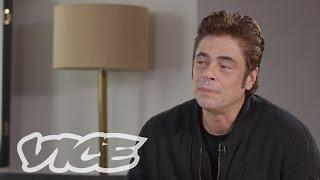 Download VICE Talks 'Sicario' with Benicio Del Toro Video