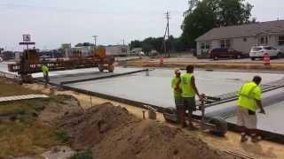 Download Slip Form Concrete Paving Marquette Road Video