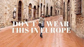 Download How To NOT Look Like A Tourist | What To Wear In Europe Video