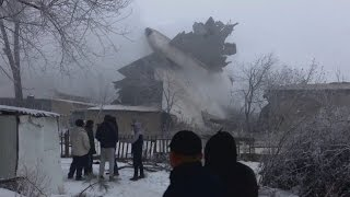 Download Dozens killed in Kyrgyzstan plane crash Video