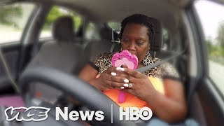 Download Driving For Uber, Sleeping In Her Car (HBO ) Video