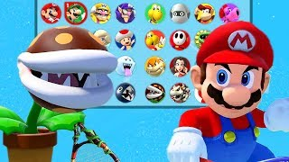 Download Mario Tennis Aces All Characters Unlocked / ALL DLC CHARACTERS - COMPLETE ROSTER Video