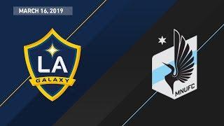 Download LA Galaxy vs. Minnesota United FC | HIGHLIGHTS - March 16, 2019 Video
