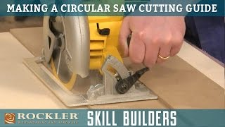 Download Make a Simple Circular Saw Cutting Guide | Rockler Skill Builders Video