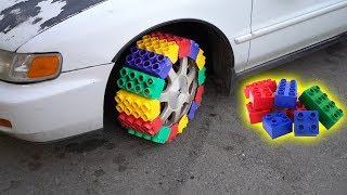 Download We Made a TIRE out of LEGOS Video