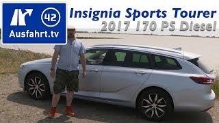 Download 2017 Opel Insignia Sports Tourer 2.0 D 170 PS AT8 - Fahrbericht der Probefahrt, Test ,Review Video