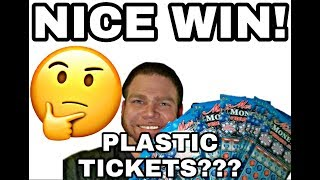 Download NICE WIN! 20X! BRAND NEW! Plastic holiday tickets! Weird! Video