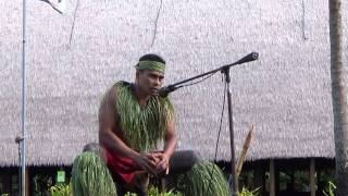 Download Funny man at Polynesia cultural center; tour in Honolulu, Hawaii-US (Good show) Video