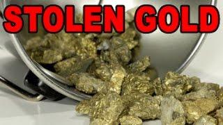 Download Stolen Bucket Of Gold Raises Questions Video