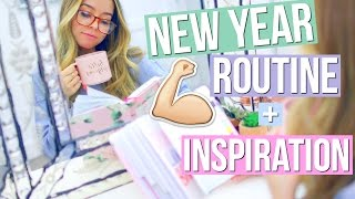 Download My New Year Routine! + How To Stay Motivated! Video
