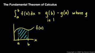 Download Calculus - The Fundamental Theorem, Part 1 Video