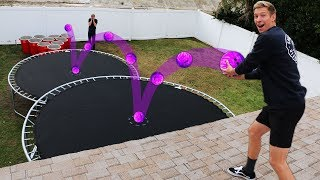 Download DONT Double Bounce into the Wrong Solo Cup!! *BOWLING BALL PUNISHMENT PONG* Video