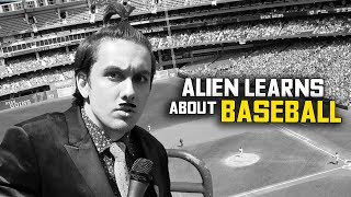 Download Alien Learns About Baseball (Undercover Human) Video