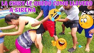 Download BARBARA! Sirena disfrutó como una niña👏 Que divertido el juego de la serpiente😂 Parte 10 Video