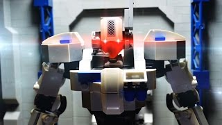 Download Lego stop motion - The Hero robot review Video
