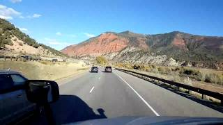 Download BigRigTravels LIVE! Gypsum to east of Eagle, Colorado Interstate 70 East-Oct. 21, 2018 Video
