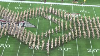 Download Fightin' Texas Aggie Band Halftime Show - Arizona State Game at NRG Stadium in Houston Video