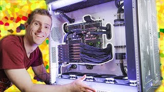 Download We FINISHED the $100,000 PC! - 6 Editors 1 CPU Pt. 6 Video