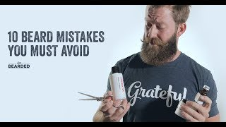 Download 10 Beard Mistakes You MUST Avoid Video