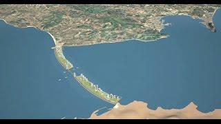 Download La Solución para Unir Europa-África y Regular el nivel del mar Mediterráneo por el deshielo polar Video