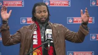 Download Josh Norman Goes Off on Referee in Postgame Press Conference | Redskins vs. Bengals | NFL in London Video